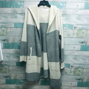 Long Hooded Sweater